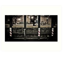 Corlandt Street Subway Station Art Print