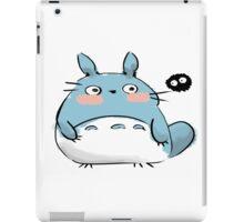 Chibi Totoro and a Soot iPad Case/Skin