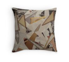 Triangle Series Two Throw Pillow