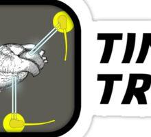 I Love Time Travel Sticker