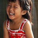 Joyful Girl by Steven  Siow