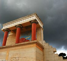 Storm over Knossos by Quixotegraphics