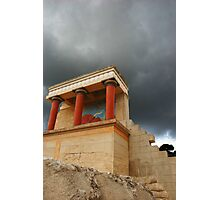 Storm over Knossos Photographic Print