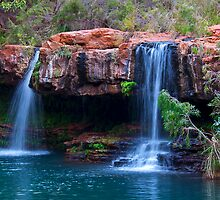 FERN POOL FALLS by Raoul Madden