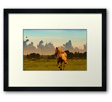 Look like wild wild west Framed Print