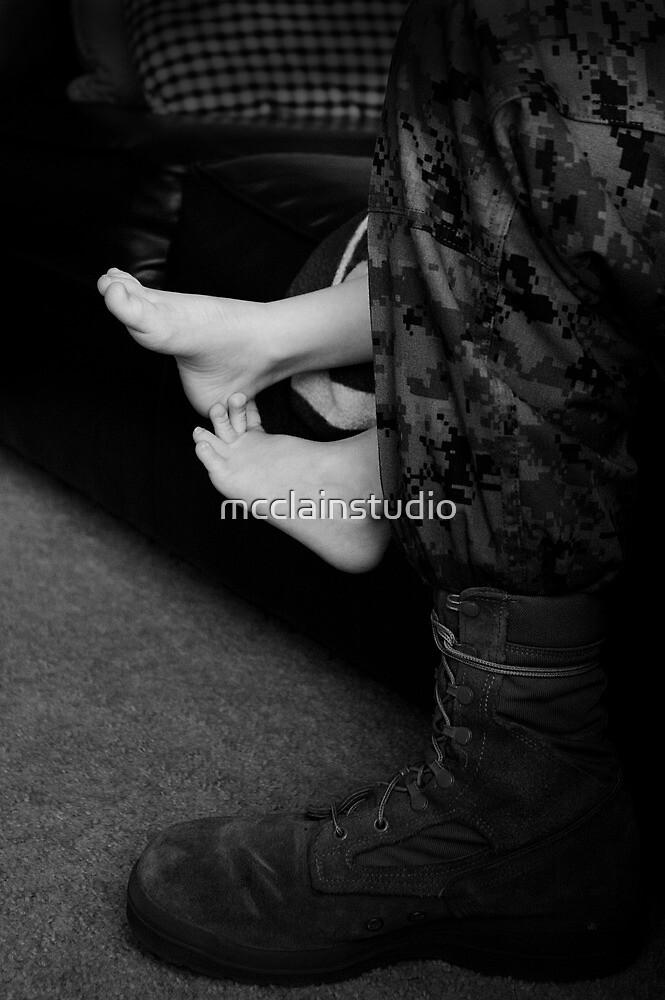 USMC & son - feet by mcclainstudio
