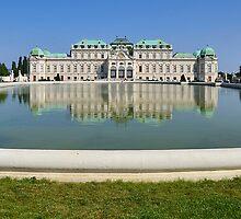 Schloss Belvedere by Andrea Rapisarda