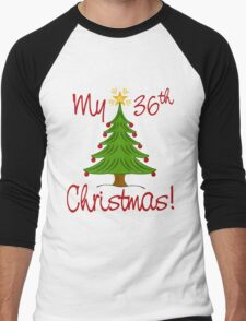MY 36th CHRISTMAS Men's Baseball ¾ T-Shirt