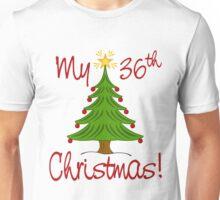 MY 36th CHRISTMAS Unisex T-Shirt