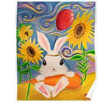 Dreamland Bunny Poster