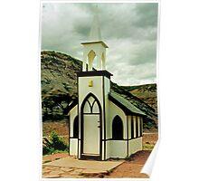 The Little Church, near Drumheller, Alberta, Canada  Poster