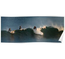 Caught a wave,Torquay Surf Beach Poster
