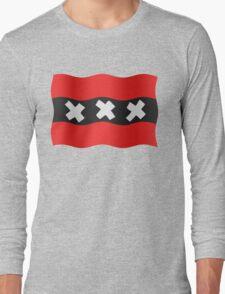 Amsterdam vlag Long Sleeve T-Shirt