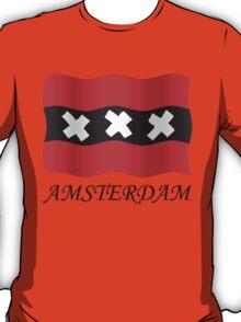 Amsterdam vlag T-Shirt