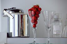 Strawberry time by Jean-Luc Rollier