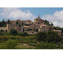 Crillon-le-Brave, Provence Photographic Print