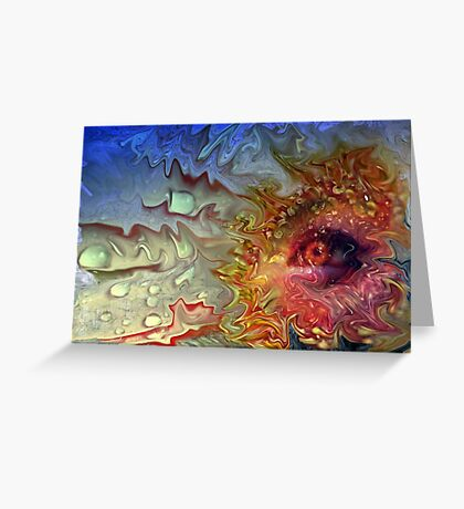 """""""Eye of the Storm ...""""(2) Greeting Card"""