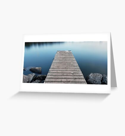 Tranquil Jetty Greeting Card