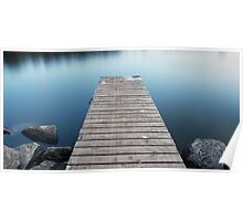 Tranquil Jetty Poster