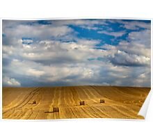 """""""Lines and Squares""""   Chicheley Hill Poster"""