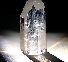 Clear Quartz Crystal by starbox
