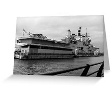 HMS Ark Royale Greeting Card