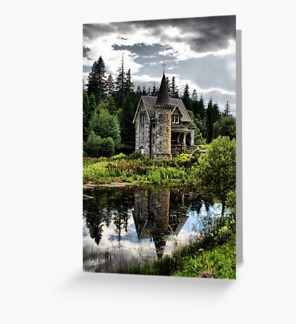 Fairytale Castle Greeting Card