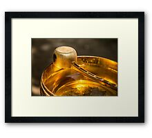 Praying to Buddah Framed Print