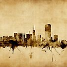 San Francisco City Skyline by Michael Tompsett