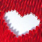 Love, beaded by Lenka