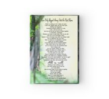 I Have Only Slipped Away Bereavement Print Hardcover Journal