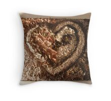 LOVE NATURE COLLECTION - HEART OF NATURE 2 RAPTURE Throw Pillow