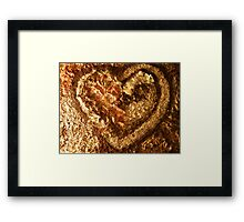 LOVE NATURE COLLECTION - HEART OF NATURE 3 TAKE ME Framed Print
