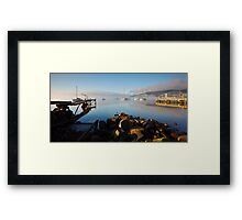 Boats off Battery Point, Hobart, Tasmania #3 Framed Print