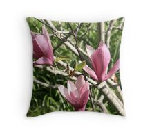 The Magnificent Three Throw Pillow