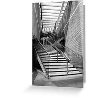 Liverpool Stairway I Greeting Card