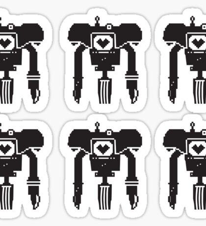 6 YES MEN Sticker