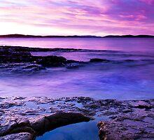 Rock Pool, South East Tasmania by James Nielsen