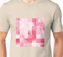Baby Pink Marble Quilt III Unisex T-Shirt