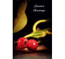 Holly Christmas. Photographic Print