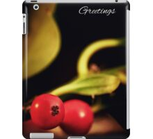 Holly Christmas. iPad Case/Skin