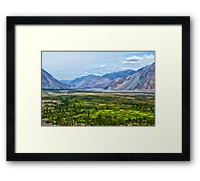 Nubra Valley-2/2011 Framed Print