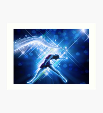 Dance makes ur world beautiful... Art Print