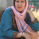 Afghan  Lady ,  Afghanistan by yoshiaki nagashima