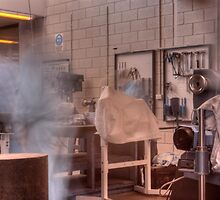 Ghost in the machine shop by BigAndRed