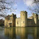 Bodiam castle by James Taylor
