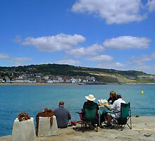 Picnic By The Cobb by Charmiene Maxwell-batten