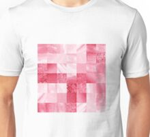 Baby Pink Marble Quilt I Unisex T-Shirt