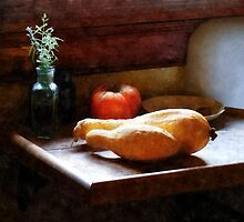 Squash and Tomato by Susan Savad