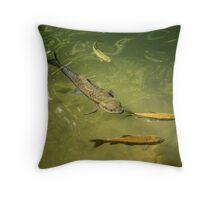 Fishpond Throw Pillow